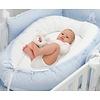 baby d'Oro: Accessoires voor Babykamers & Kinderkamers Blauw babynestje  - baby d'Oro
