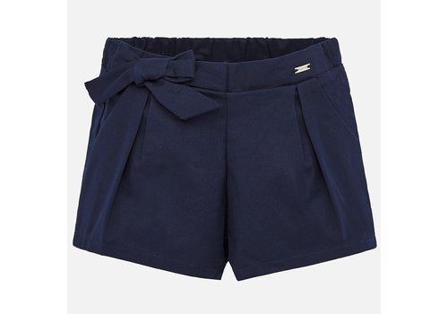Satijnen short (navy) - Mayoral