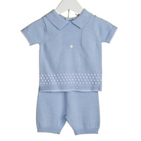 Tweedelige set (blauw) - Bluesbaby