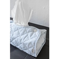 Tissue box hoes blauw (Oxford Blue) - Poetree Kids