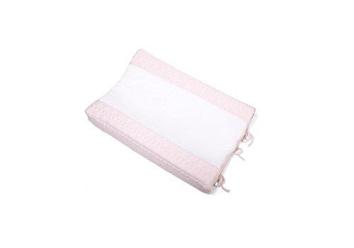 Aankleedkussenhoes roze (Star Soft Pink) - Poetree Kids