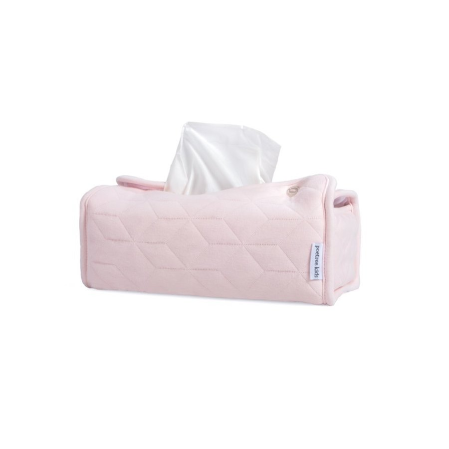 Tissue box hoes roze (Star Soft Pink) - Poetree Kids