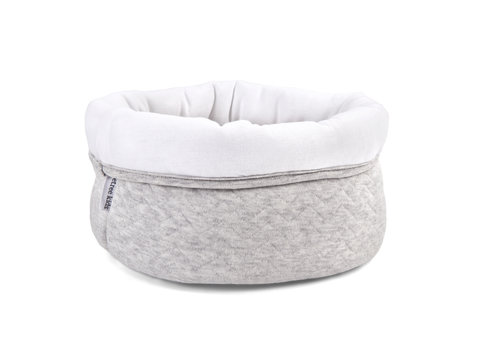 Commodemandje light Grey (Chevron Light Grey) - Poetree Kids