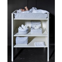 Toilettas licht grijs (Chevron Light Grey) - Poetree Kids