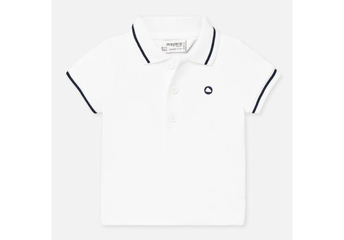 Witte polo - Mayoral