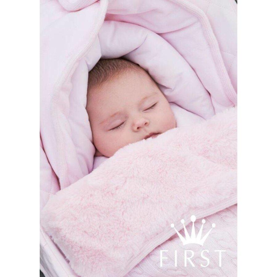 Maxi-Cosi gebreide voetenzak (roze) - First (My First Collection)