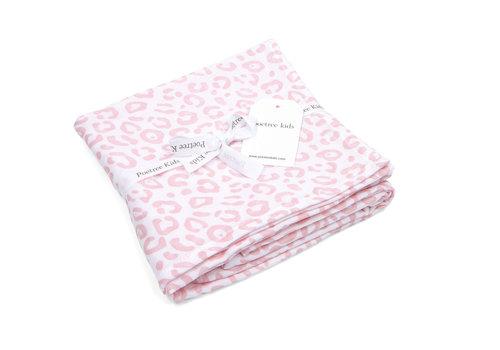Swaddle doek leopard (Pink) - Poetree Kids