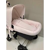 Roze binnenvoering kinderwagen - GBB