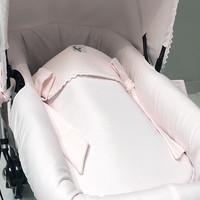 Roze slaapzak kinderwagen/wieg - GBB