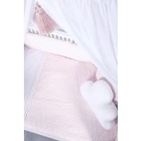 Ledikant laken roze (Star Soft Pink) - Poetree Kids
