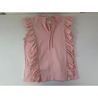 Roze shirt met ruches
