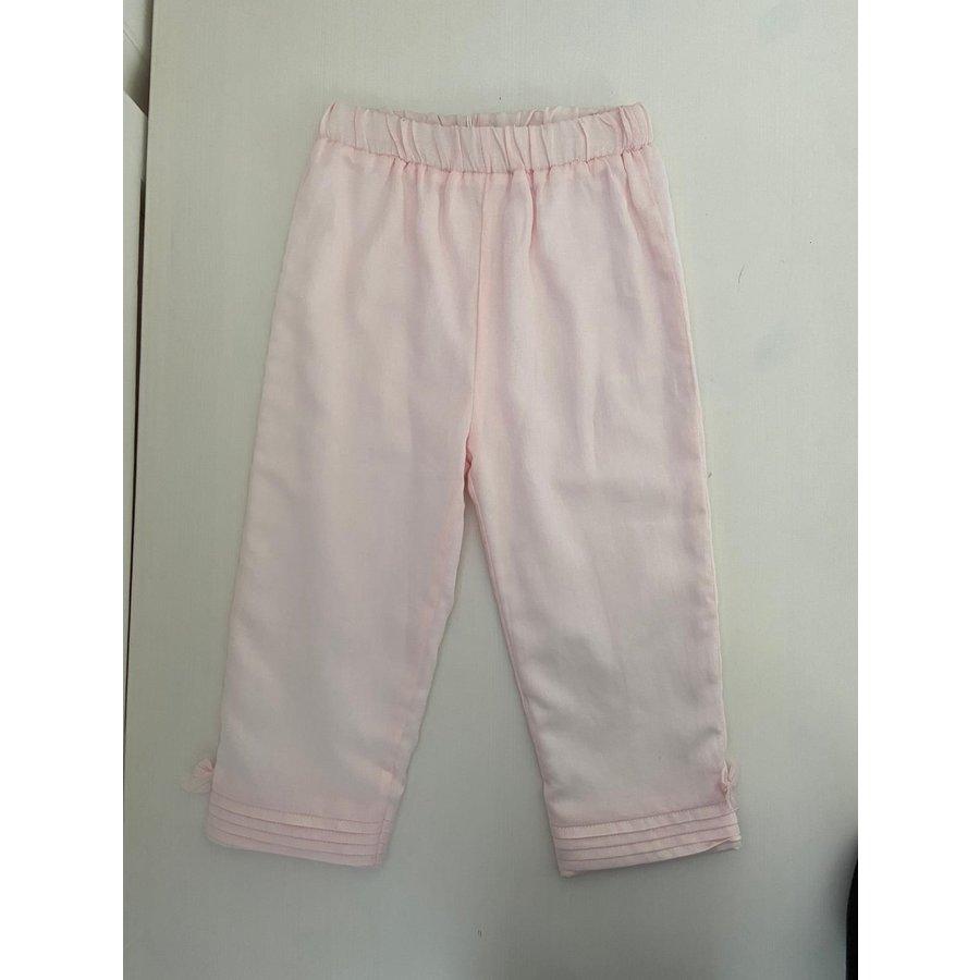 Roze broek met strikjes - Patachou