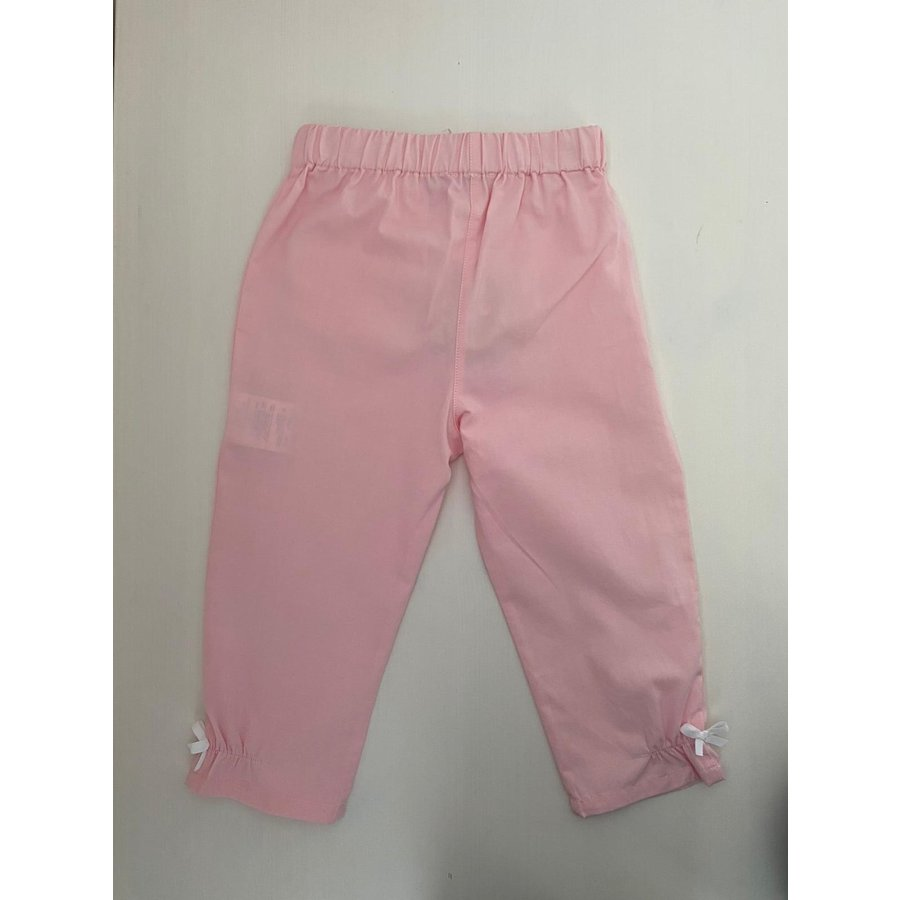 Roze broek met witte strikjes - Patachou