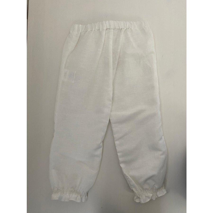 Witte linnen broek - Patachou