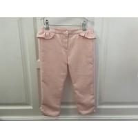 Roze broek met schulprand - Patachou