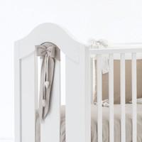 Ecrù lint voor bed - Nanan