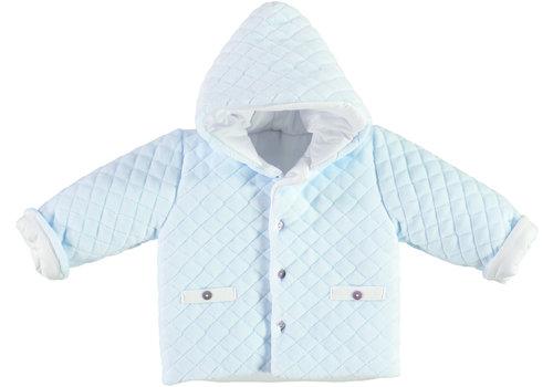 Gewatteerde jas (Blauw) - Babidu