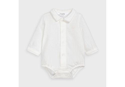 Overhemd romper (off white) - Mayoral