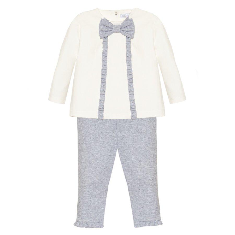 Set: shirt & broek (grijs) - Patachou