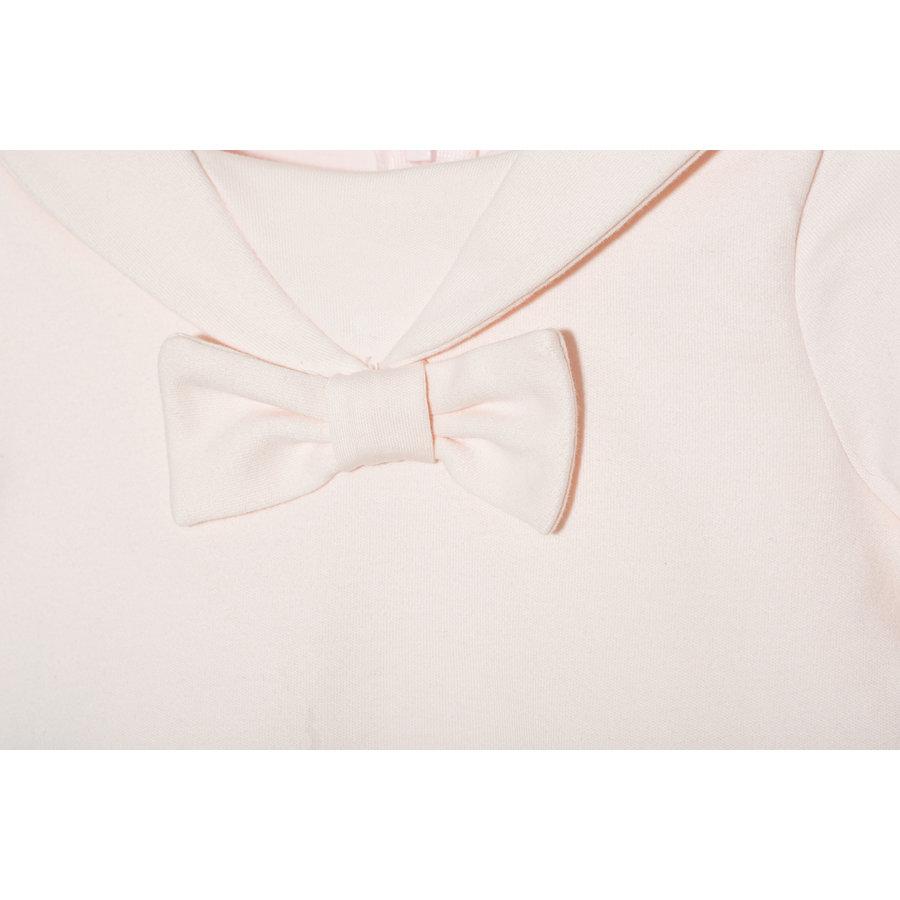 Jurk met plooien en strik (roze) - Patachou