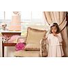 Patachou: Babykleding & Kinderkleding Jurk met plooien en strik (roze) - Patachou