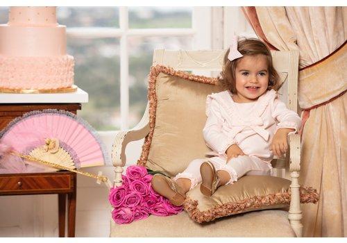 Set: shirt & broek (roze) - Patachou