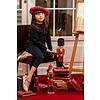 Patachou: Babykleding & Kinderkleding Shirt met versierde kraag en strik (blauw) - Patachou