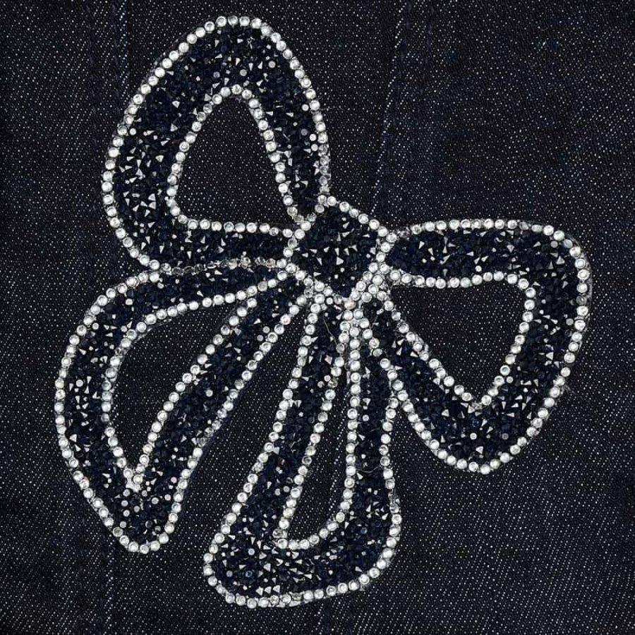 Spijkerjasje met stik (navy) - Mayoral