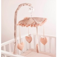 Muziekmobiel Pink (Glamour Collection) - Royal Baby Collection