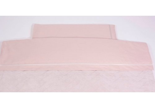 Lakenset 100cm x 160cm Pink (Glamour Collection) - Royal Baby Collection