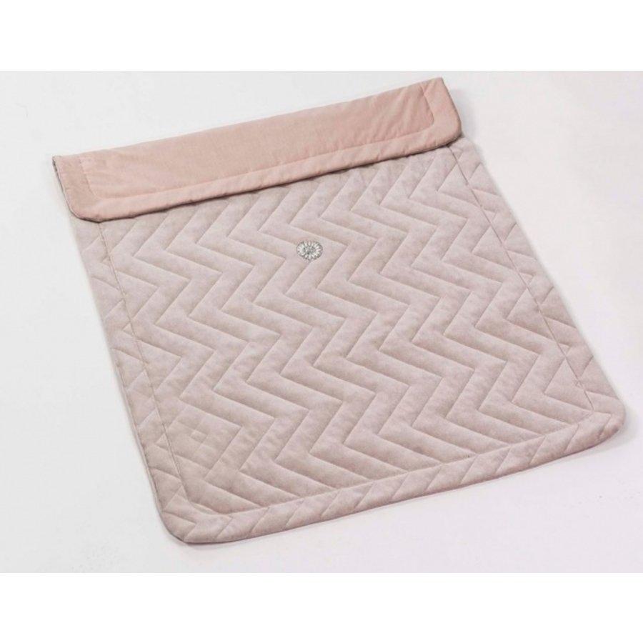 Ledikant deken Pink (Glamour Collection) - Royal Baby Collection