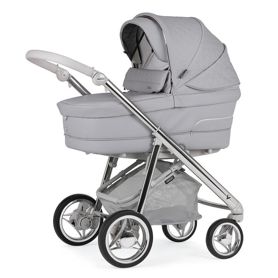 Kinderwagen V-Pack (grijs/zilver) - Bébécar