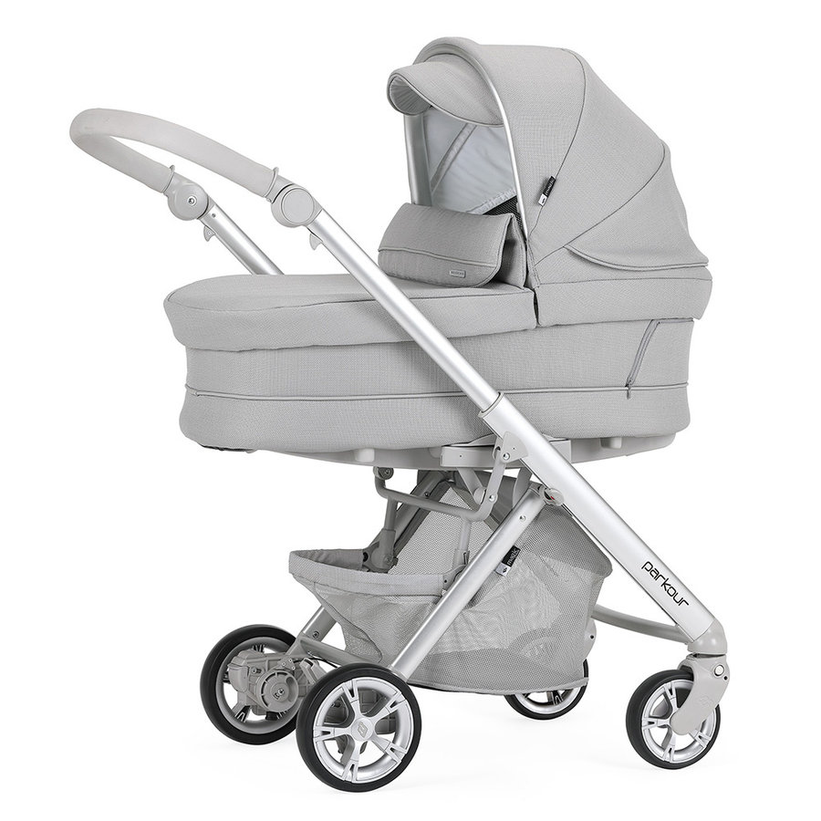 Kinderwagen Pack Parkour (grijs/zilver) - Bébécar