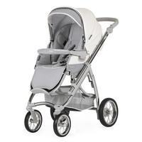 Kinderwagen Ip-Op classic XL (wit/grijs) - Bébécar