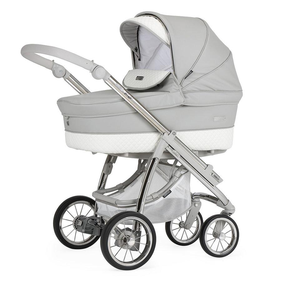 Kinderwagen Ip-Op classic XL (grijs/wit) - Bébécar