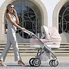 Kinderwagen Pack M-city (roze/wit) - Bébécar