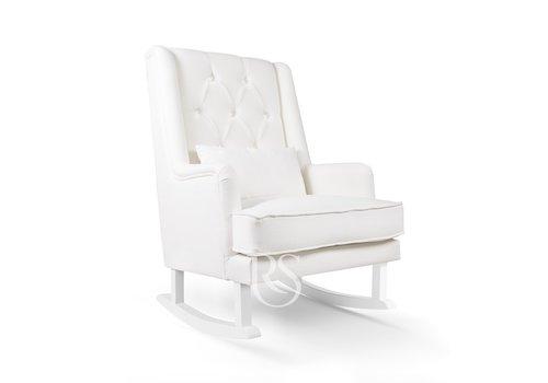 Schommelstoel Crystal Royal Rocker (wit) - Rocking Seats