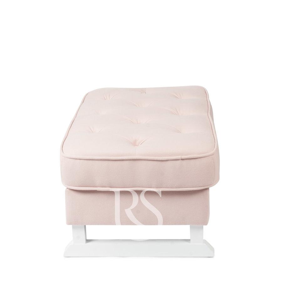 Voetenbank Royal (roze) - Rocking Seats