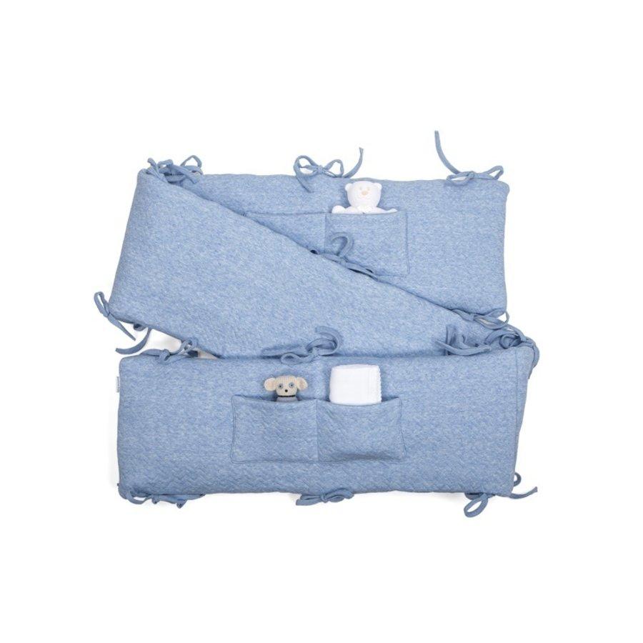 Boxomrander blauw (Chevron Denim Blue) - Poetree Kids