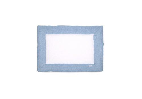 Boxkleed blauw (Chevron Denim Blue) - Poetree Kids
