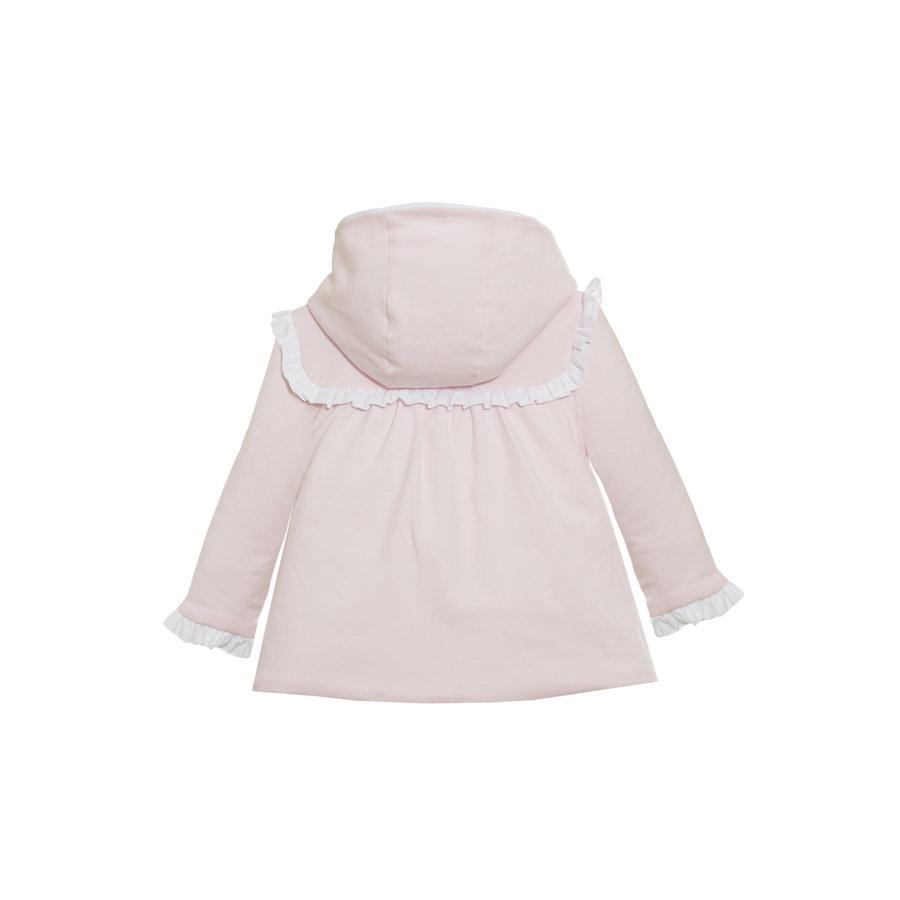 Jas met grote witte strik (roze) - Patachou