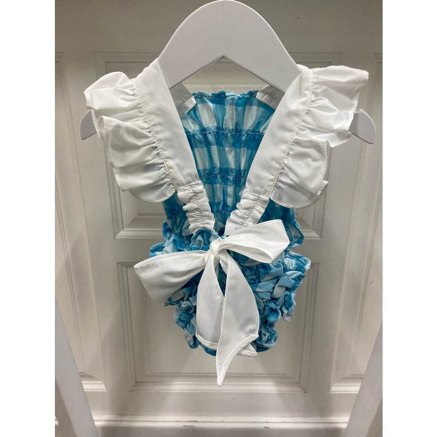 Badpak Luisinha (turquoise) - DOT (Delicate Baby Clothes)