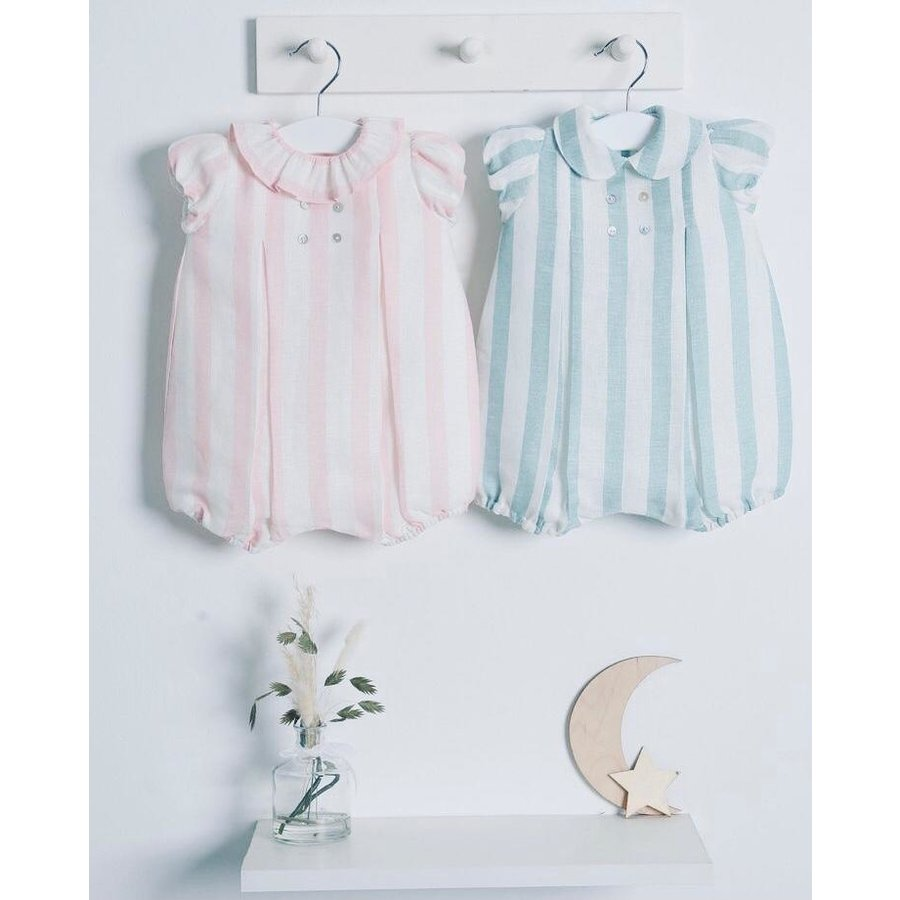 Body/romper Mango (roze) - DOT (Delicate Baby Clothes)