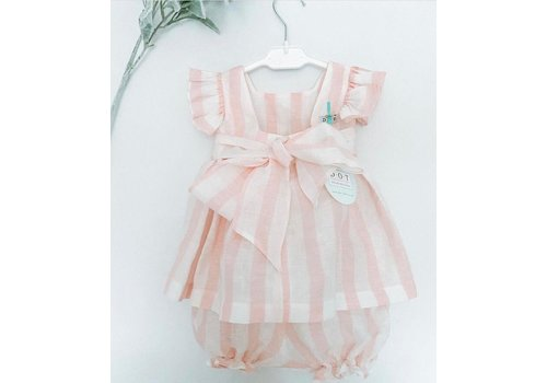 Tuniek  Alice (roze) - DOT (Delicate Baby Clothes)
