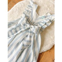 Jurk Charlotte (blauw) - DOT (Delicate Baby Clothes)