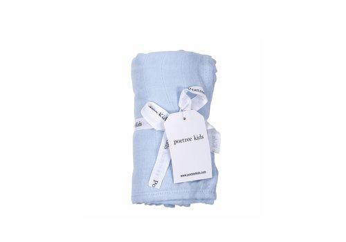 Swaddle doek (Light Blue) - Poetree Kids