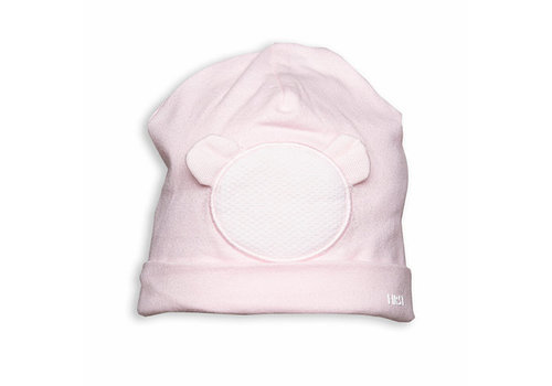 Mutsje met roze teddy - First (My First Collection)