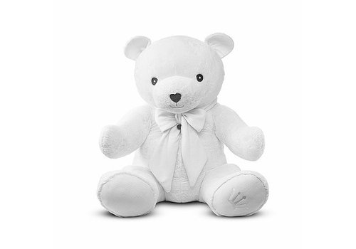 Teddybeer Zoë XL (wit) - First (My First Collection)