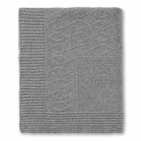 Deken wol/cashmere XL (grijs) - First (My First Collection)