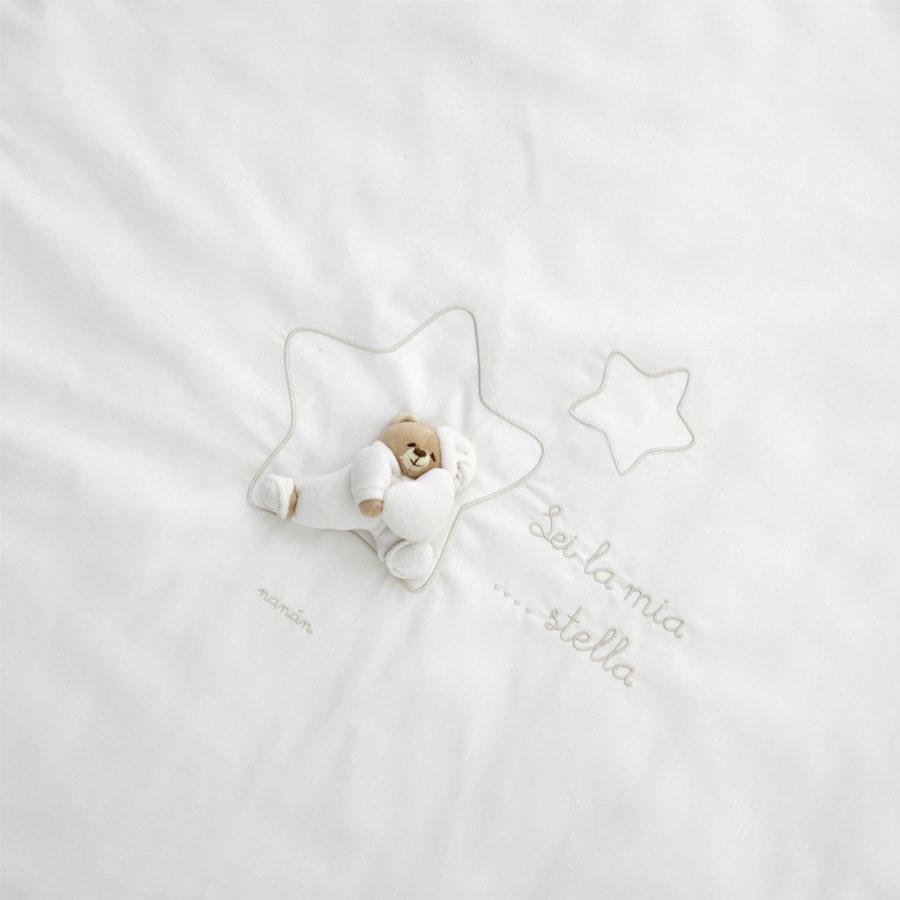 Rond vloerkleed Tato (wit)  - Nanan